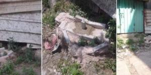 دفن جثة طفل في الرصيف بعد عجز الأب عن دفع قيمة القبر بمحافظة إب