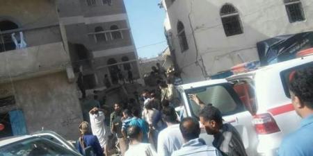 مليشيا الحوثي تعلن حصيلة غارات التحالف على ''مدرسة الشرطة'' في صنعاء