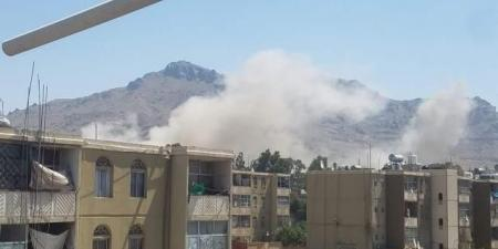 بالفيديو.. مصادر تكشف المواقع التي استهدفتها مقاتلات التحالف قبل قليل في صنعاء