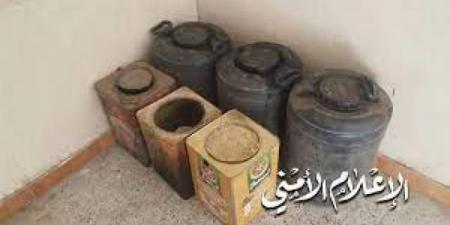 ضبط مصنع للخمور في إحدى مديريات محافظة إب