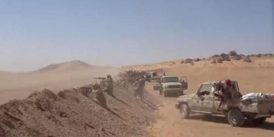 مشاهد لا ينصح بمشاهدتها إطلاقا.. محارق تلتهم مقاتلي مليشيا الحوثي في صحراء الجوف (فيديو)