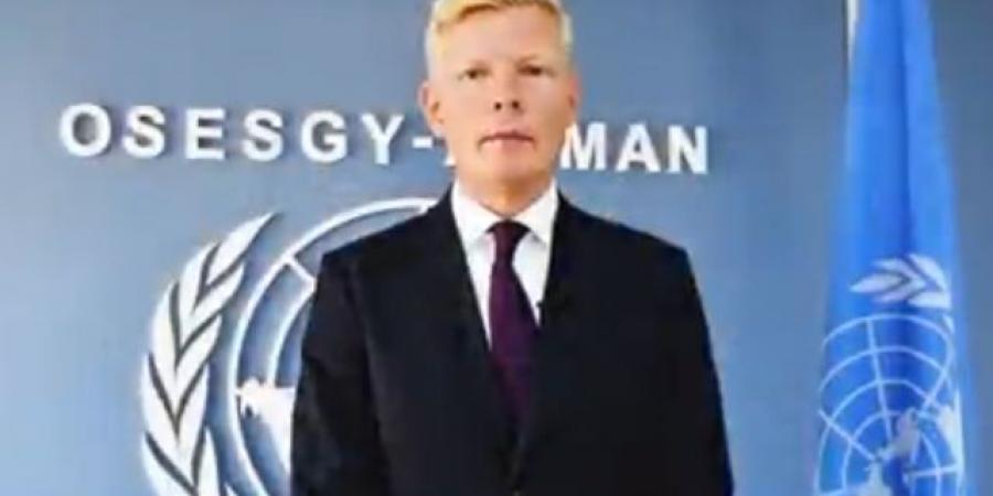 """بالفيديو... المبعوث """"غروندبرغ"""" يوجه أول رسالة له إلى اليمنيين"""