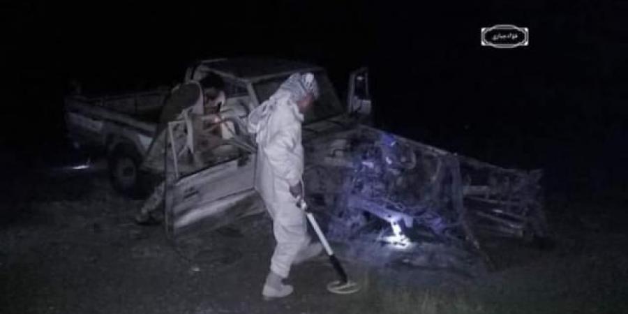الحوثي يتسبب في إصابة أسرة بأكملها في إنفجار يطال سيارتهم بالضالع