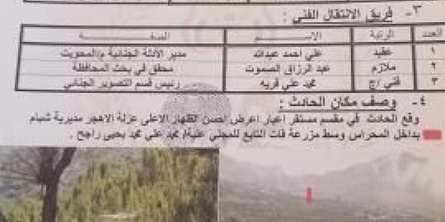 على طريقة الأغبري.. جريمة تعذيب مروعة بحق شاب يمني وتصفيته رميًا بالرصاص.. وأسرته تناشد بالقصاص