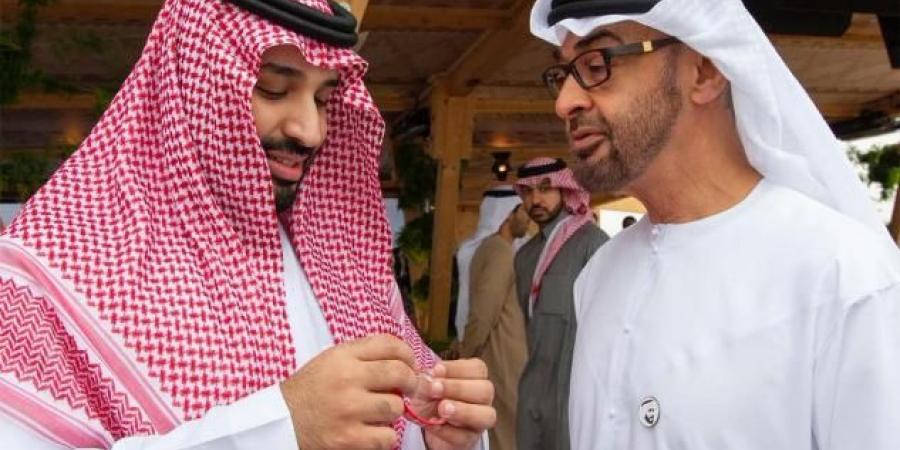 """""""بن سلمان"""" و """"بن زايد"""" يناقشان مستجدات المنطقة"""