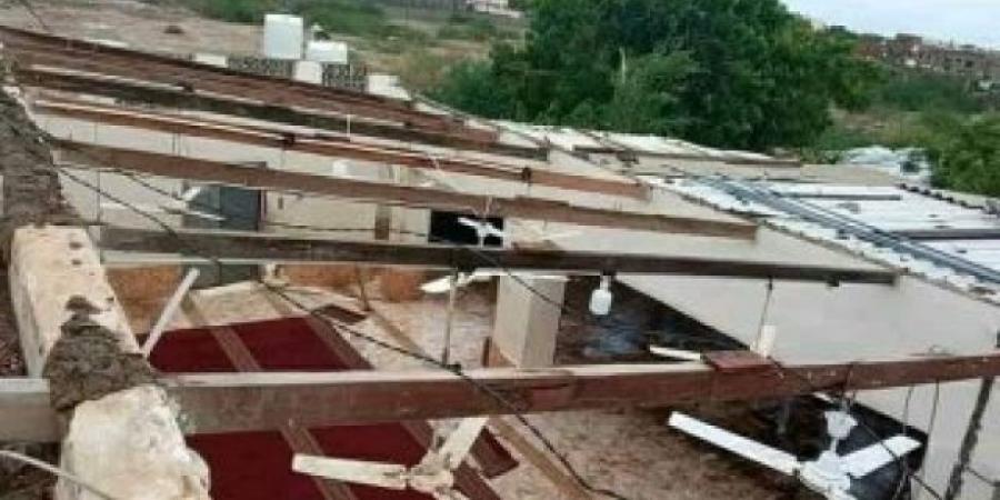 شاهد بالصور أضرار كارثية في محافظتي أبين ولحج بسبب الأمطار