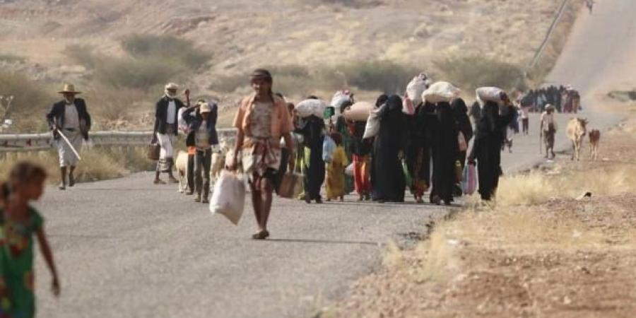 موجة نزوح كبيرة جراء تصاعد العمليات القتالية بين الجيش والحوثيين