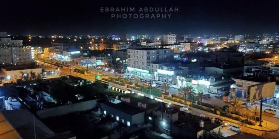 شاهد كيف تبدو مدينة مأرب في ليلة عسكرية طاحنة على أطراف المحافظة