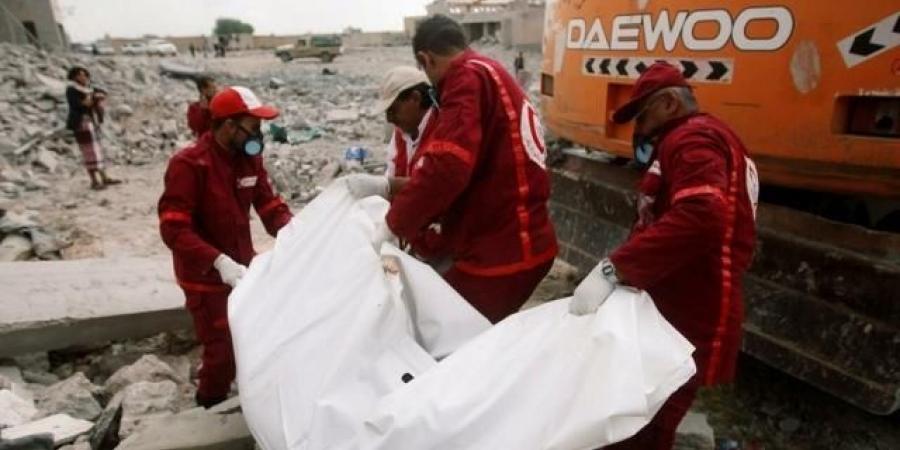 ميليشيا الحوثي تغدر بالهلال الأحمر وترتكب مجزرة بشعة بحق موظفيها خلال عملية تبادل الجثث في تعز