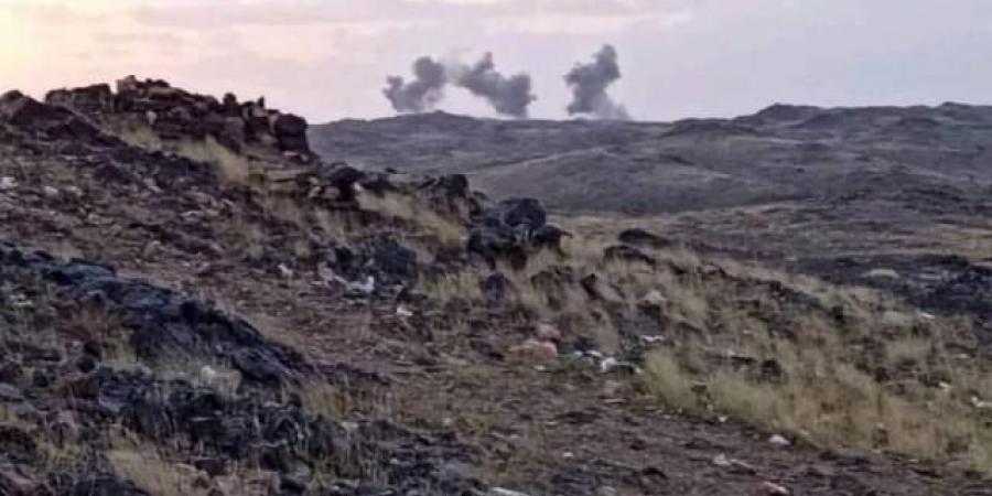 """طيران التحالف العربي يشن عدة غارات على """"العبدية"""" بمأرب وسقوط عدد من القتلى من ابناء العبدية (الاسماء)"""