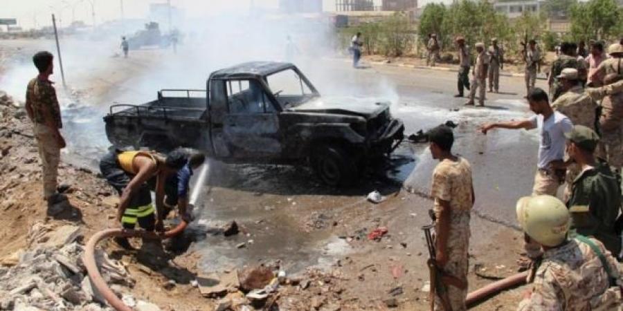 قيادي بالانتقالي يتهم وزارة الداخلية بالوقوف خلف استهداف محافظ عدن