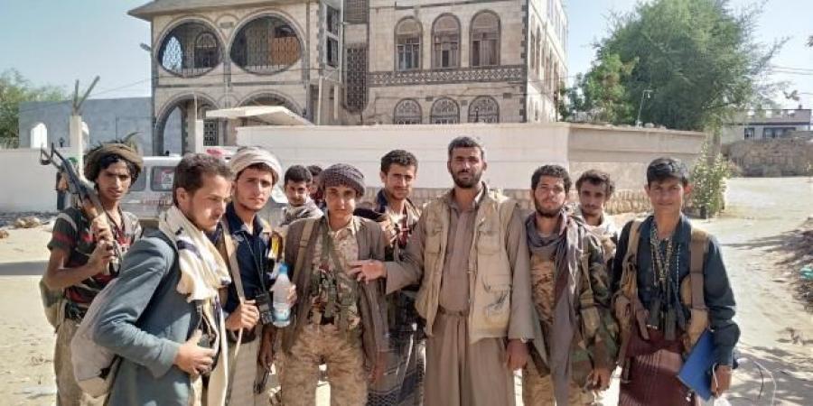 مليشيا الحوثي تعلن السيطرة على مديرية الجوبة المحاذية لمدينة مارب وتظهر أمام منزل اللواء ''مفرح بحيبح''(صور)